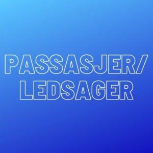 Passasjer/Ledsager